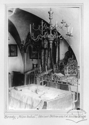 """""""Old school"""" synagogue. Small praying room."""