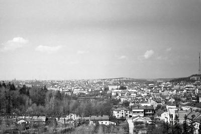 Lviv panorama from Hill of Glory