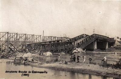 Destroyed Pedestrian Bridge