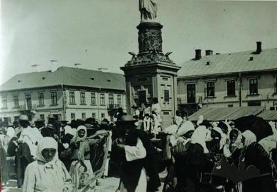 Statue of Lady Symbolizing Austria