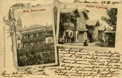 Villa Switezianka. Bath Establishment