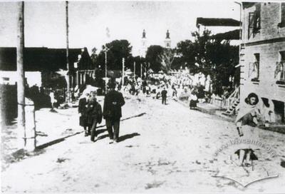 Old Market on Naberezhna Street