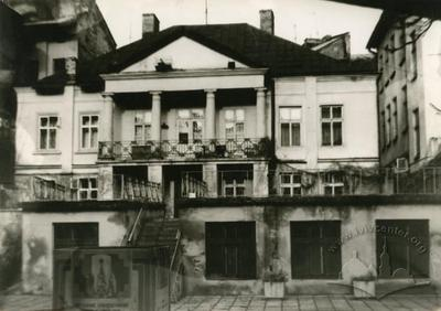Ancient palace in a courtyard of the house №15 on Lychakivska street