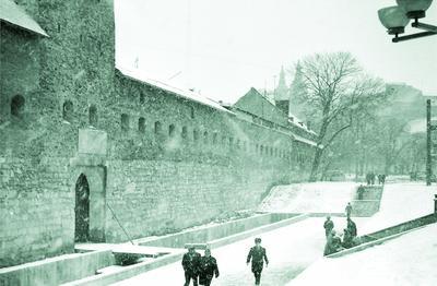 Bernardine monastery wall and Hlynianska tower