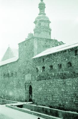 Hlynianska tower and Bernardine monastery wall