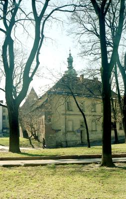 Southeastern side of Bernardine monastery