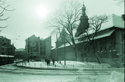 View of Radianska street (Vynnychenka street now)