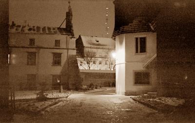 "Courtyard of the former Bernardine monastery and ""Ukrzakhidproektrestavratsia"" institute"