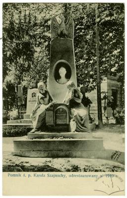 Пам'ятник св. п. Кароля Шайнохи