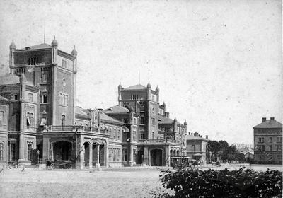 First train station in Lviv
