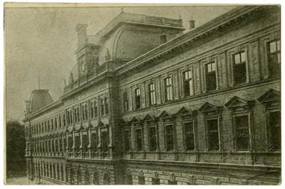 Fragment of building of The Main Post Office