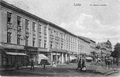 Karla-Ludwiga street, 1/3 (Svobody avenue now)