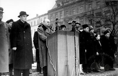 Unveiling Ceremony of V. I. Lenin Monument