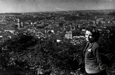View of Lviv from the High Castle