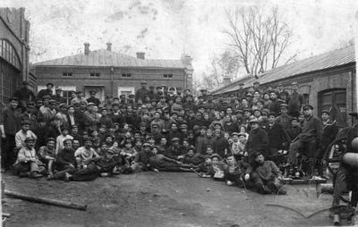 Workers of the Ashkinazi Iron Foundry and Mechanical Plant