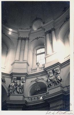 Interior of Holy Eucharist church