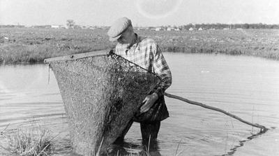 Fishing at Sokilnyky