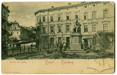 Пам'ятник драматургу графу Александру Фредро