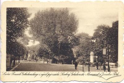 "Monument to Gołuchowski and ""Post-Jesuit"" Garden"