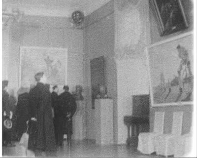 Виставка радянських художників у Львівському будинку офіцерів