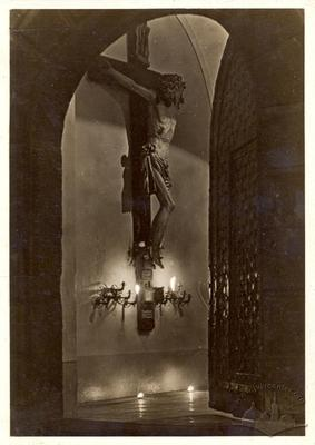 Розп'яття в бернардинському костелі
