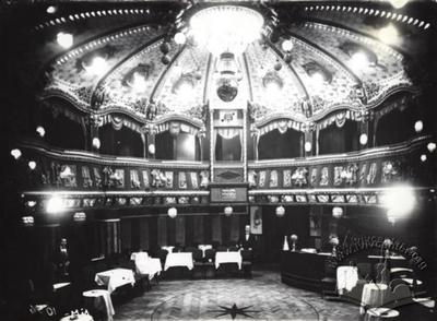 "Audtorium of theater ""Casino de Paris"""