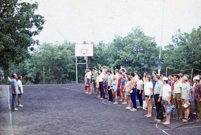 """Зміна спортсменів на лінійці у спортивно-оздоровчому таборі """"Політехнік"""""""