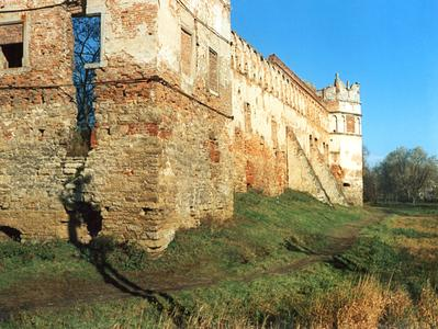Fragment of castle wall