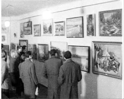 Exhibition of Socialist Realism Paintings