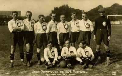 Olympic football team of Poland at Summer Olympics 1924 in Paris