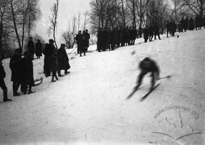 Ski competitions in Lviv