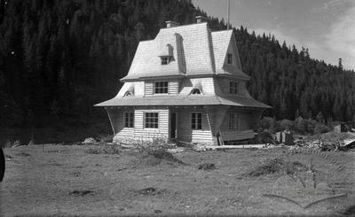 Shelter in Carpathians