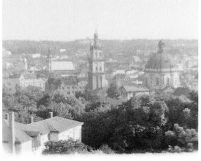 Festivities on the High Castle Hill on the Occasion of Lviv's Liberation