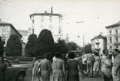 Summer day on Mitskevycha square