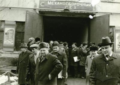 City administration delegation in Lviv motor plant
