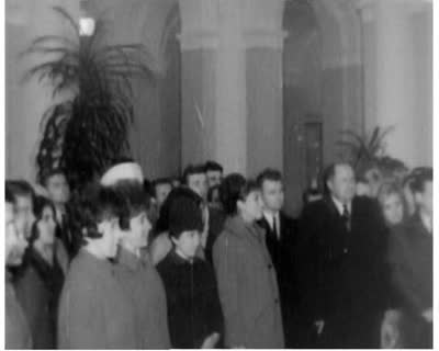 Visiting the Lenin Museum