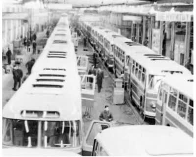 Above-Plan Production of Buses