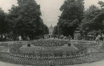 Prospect of the central boulevard of 1 Travnia street (Svobody avenue)