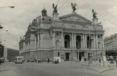 Lviv opera theater named after Ivan Franko