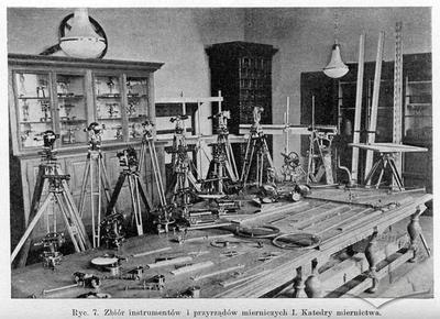 Measuring instruments and devices collection of the first cathedra  of metrology