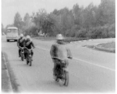 Motorcycle Race Is Over