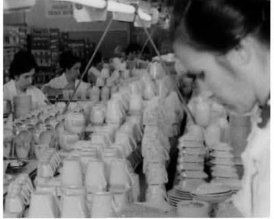 Visiting the Boryslav Porcelain Factory