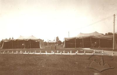 Planes at the Military Exhibition of the Second Army