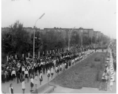 Victory Day Festivities in Chervonohrad