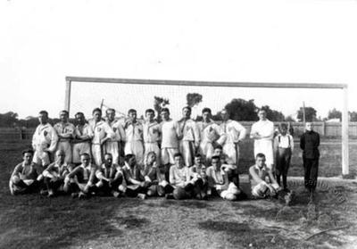 "Footballers of Lviv ""Pohonia"" and I legions crew team"