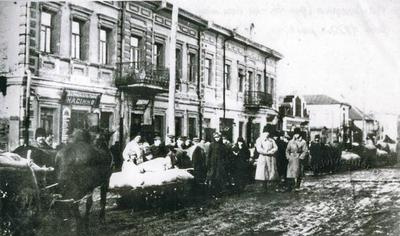 Kamianetska Street on Fair day