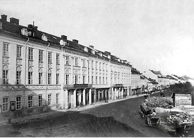 Haussner Building at 1-3, Svobody Boulevard