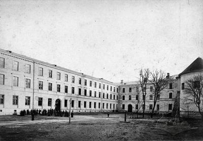 Courtyard of the former Greek Catholic Holy Spirit Seminary