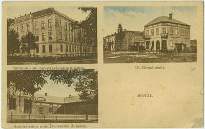 Teacher's Seminary and View of one of the City's Streets