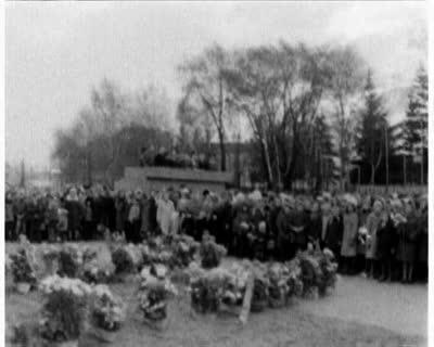Monument to Lenin in Horodok